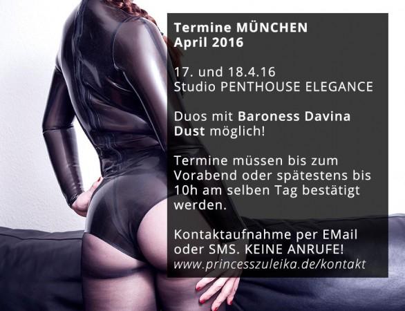 Termine München April